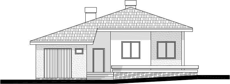 Atelier d 39 architecture villa atanassovi aprilovo for Dessin de plan de maison