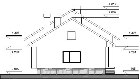 Atelier d 39 architecture maison 1 5 2 dolni bogrov for Plan des facades