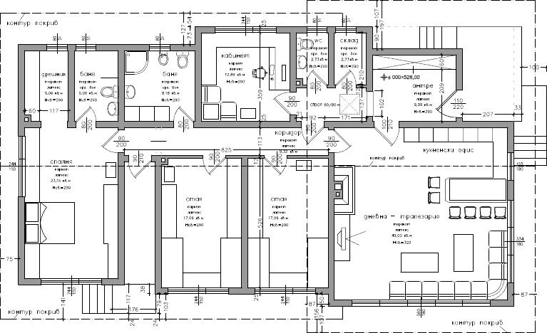 Atelier d 39 architecture maison 1 5 2 dolni bogrov for Une architecte