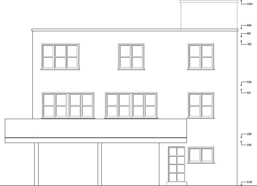 Atelier d 39 architecture cit id ale maison concr te for Dessin fondation maison