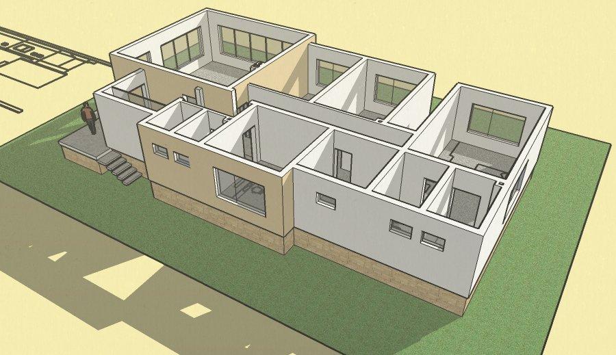 Atelier d 39 architecture maison 1 5 2 dolni bogrov for Plant architecture maison