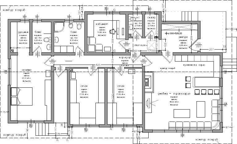 Plan de maison moderne d architecte maison moderne for Plan architecte maison