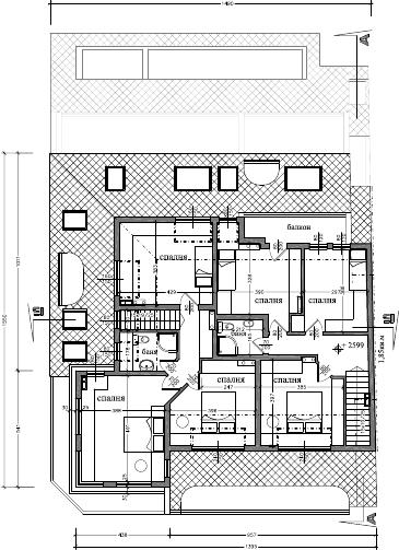 Atelier d 39 architecture immeuble dondoukov sofia - Plan maison 2 niveaux ...