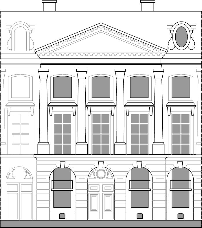 Atelier d 39 architecture h tel d 39 vreux for Plan des facades