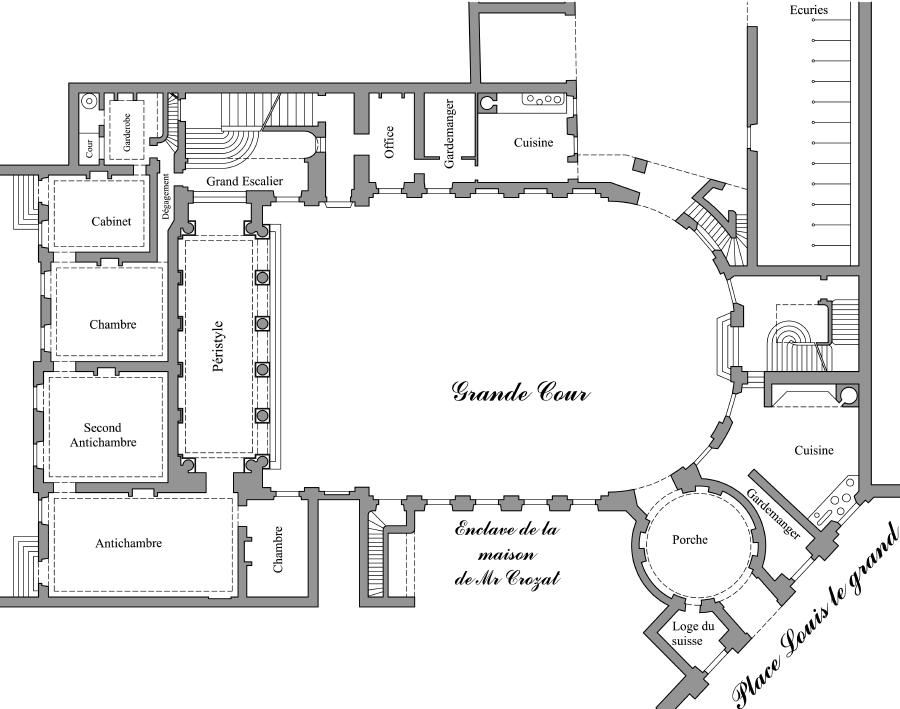 atelier d 39 architecture h tel d 39 vreux. Black Bedroom Furniture Sets. Home Design Ideas