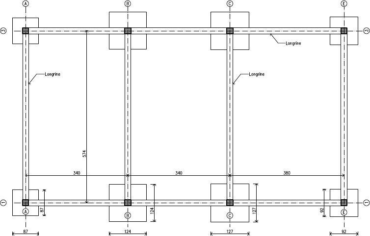 plan fondation maison etage