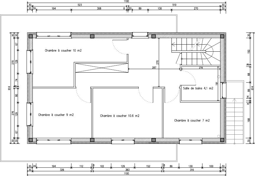 atelier d 39 architecture cit id ale maison concr te. Black Bedroom Furniture Sets. Home Design Ideas
